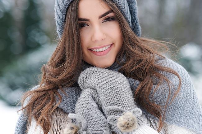 احمي بشرتك من الجفاف في الشتاء