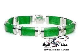 أجمل اناقه الاكسسورات باللون الأخضر